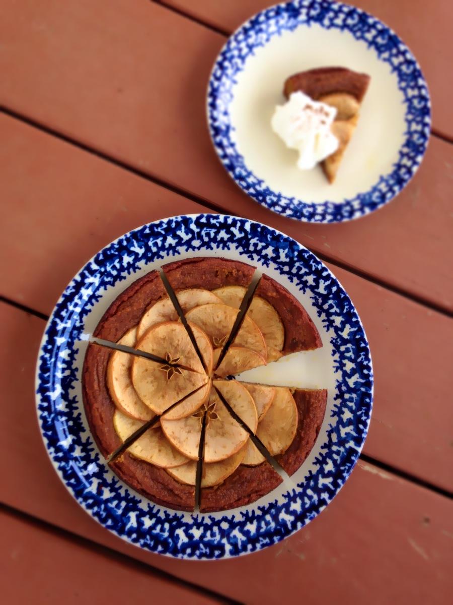 Grain-Free Apple Cake - GrokGrub.com