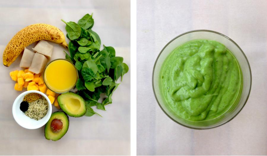 Green Breakfast Smoothie   Fresh Planet Flavor
