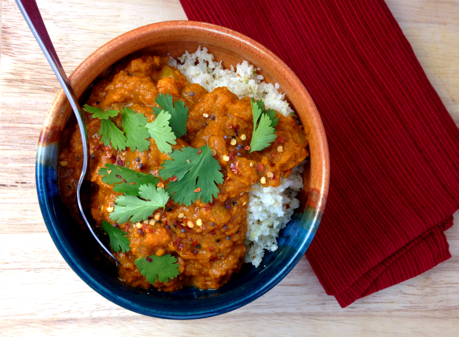 GrokGrub.com - Sambar (Indian Onion Stew)   Paleo