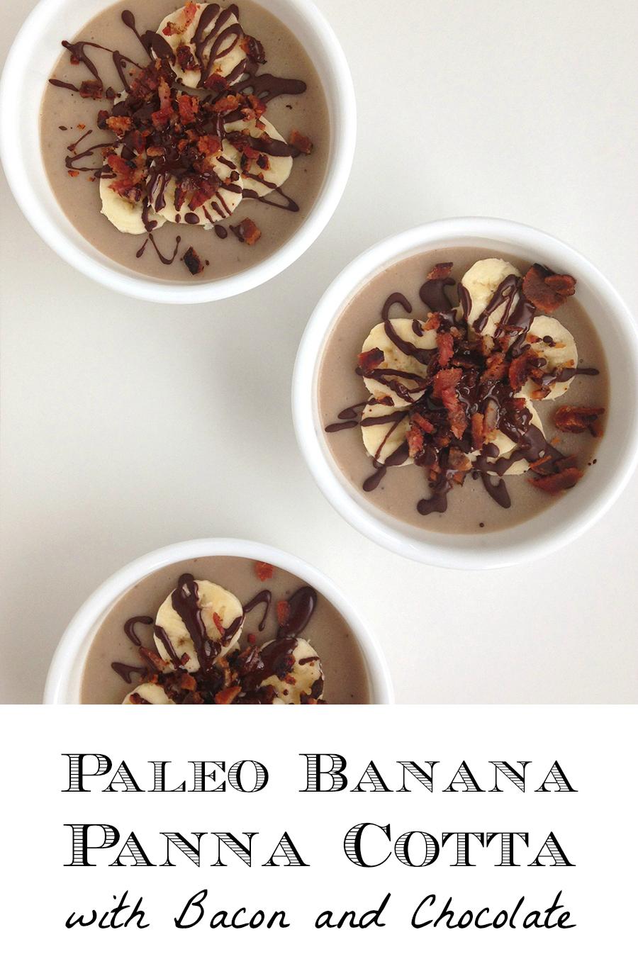 Paleo Banana Panna Cotta (Dairy-Free)   Fresh Planet Flavor