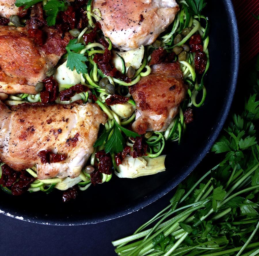 Paleo Chicken Scallopini - Fresh Planet Flavor