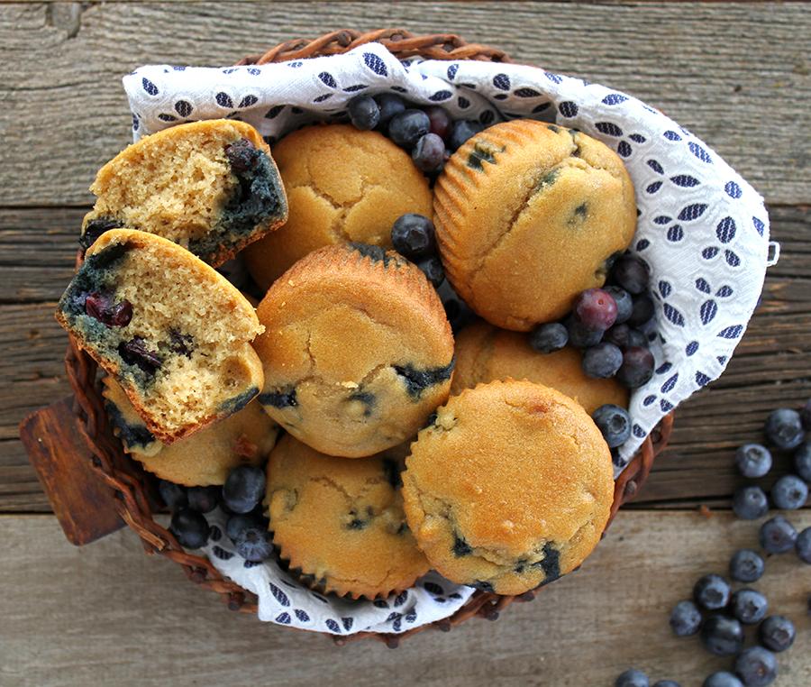 Blueberry Muffins by Zenbelly | GrokGrub.com