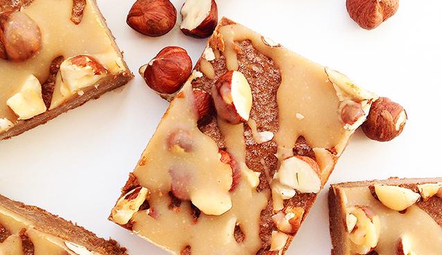 Pumpkin Espresso Hazelnut Fudge (Vegan, Paleo, Raw) | GrokGrub.com