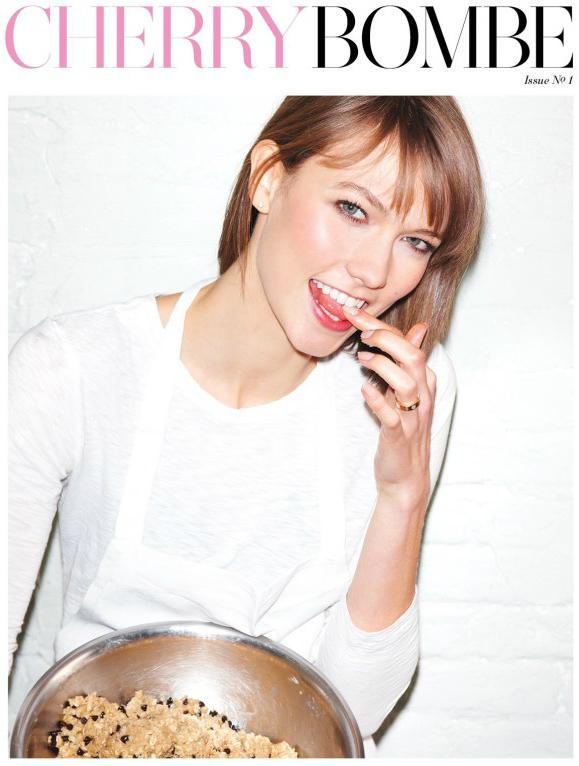 Karlie Kloss for Cherry Bomb Magazine   GrokGrub.com