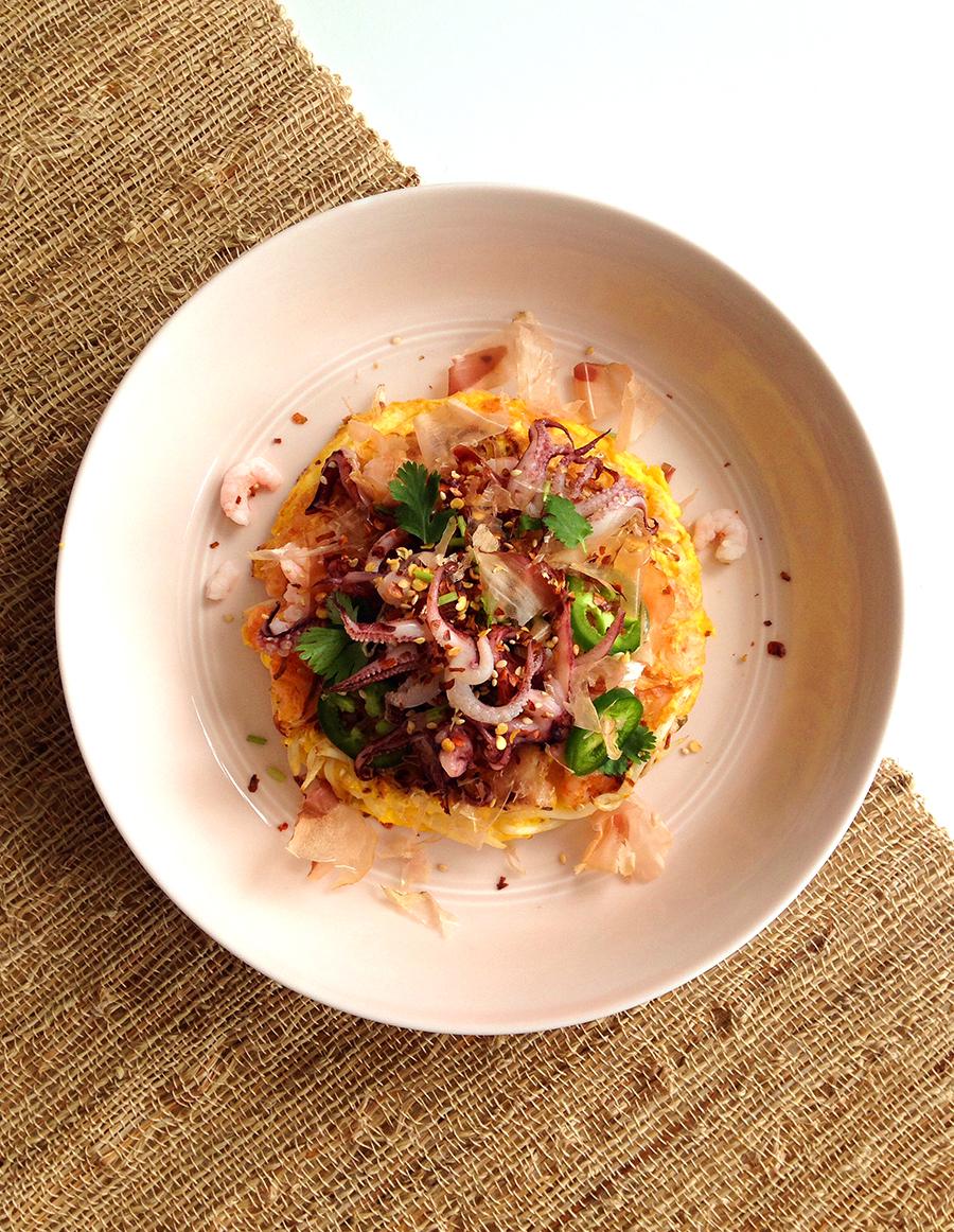 Paleo Okonomiyaki (Japanese Pancake) | Fresh Planet Flavor