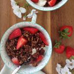 Triple Chocolate Granola - 100 Paleo Valentine's Day Recipes (breakfast, drinks, appetizers, entrées and desserts!)   GrokGrub.com