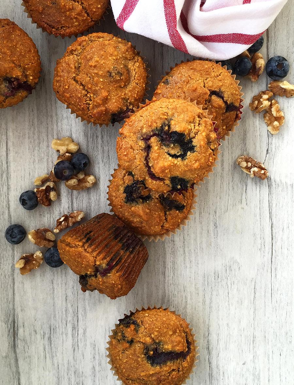 Antioxidant Superfood Muffins (grain free, dairy free, refined sugar free, paleo)   Fresh Planet Flavor