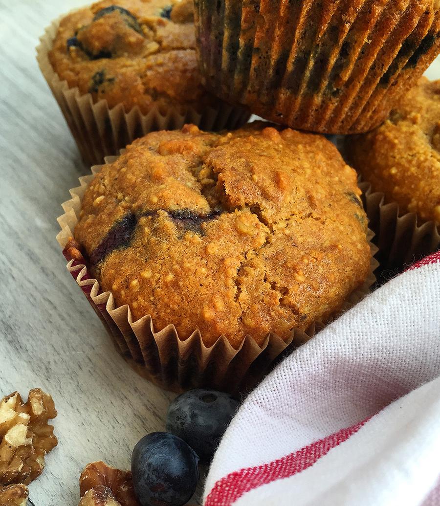 Antioxidant Superfood Muffins