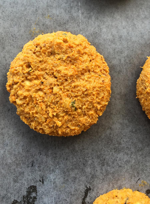 Walnut Sweet Potato Biscuits and Mushroom Gravy (grain free, gluten free, dairy free, paleo) | GrokGrub.com