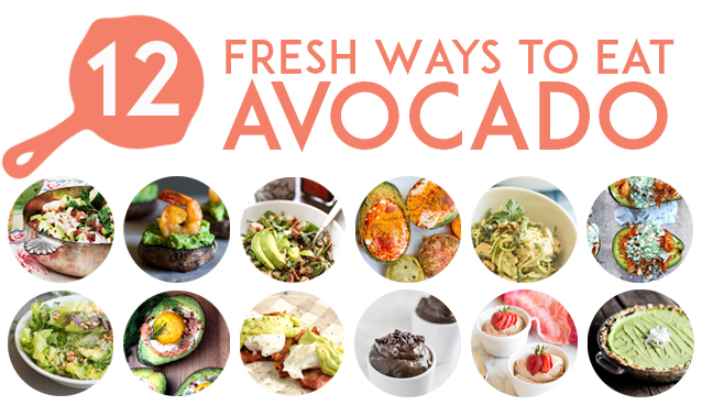 12 Fresh Avocado Recipes | GrokGrub.com
