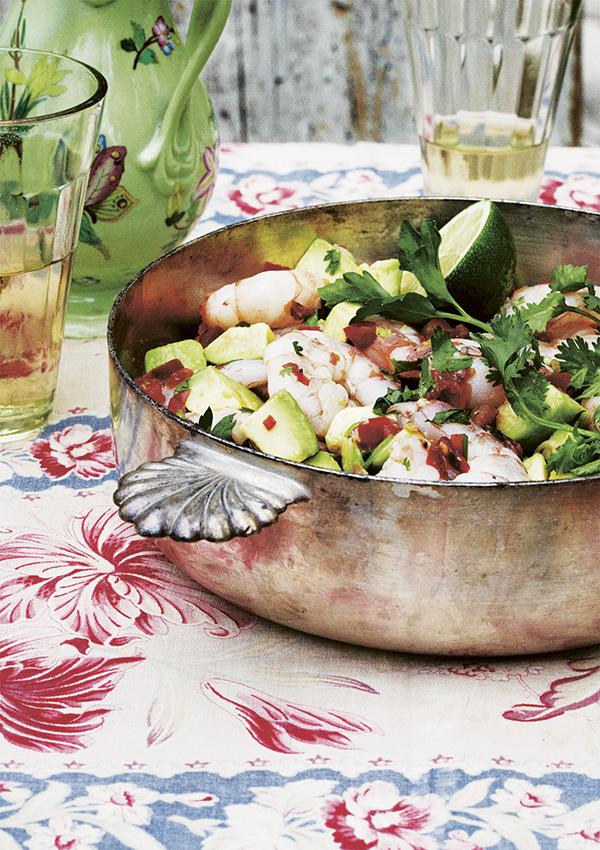 Ceviche with Shrimp and Avocado - 12 Fresh Avocado Recipes   GrokGrub.com