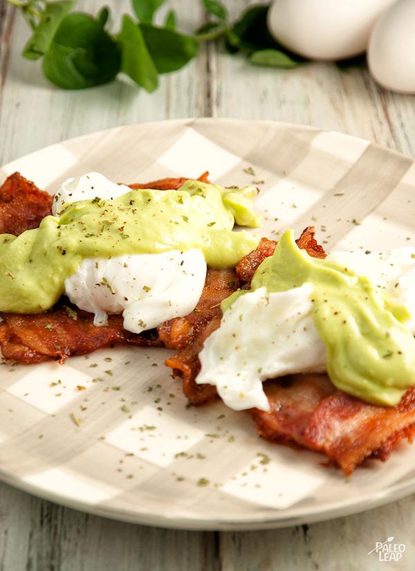 Eggs Benedict With Avocado Sauce - 12 Fresh Avocado Recipes   GrokGrub.com