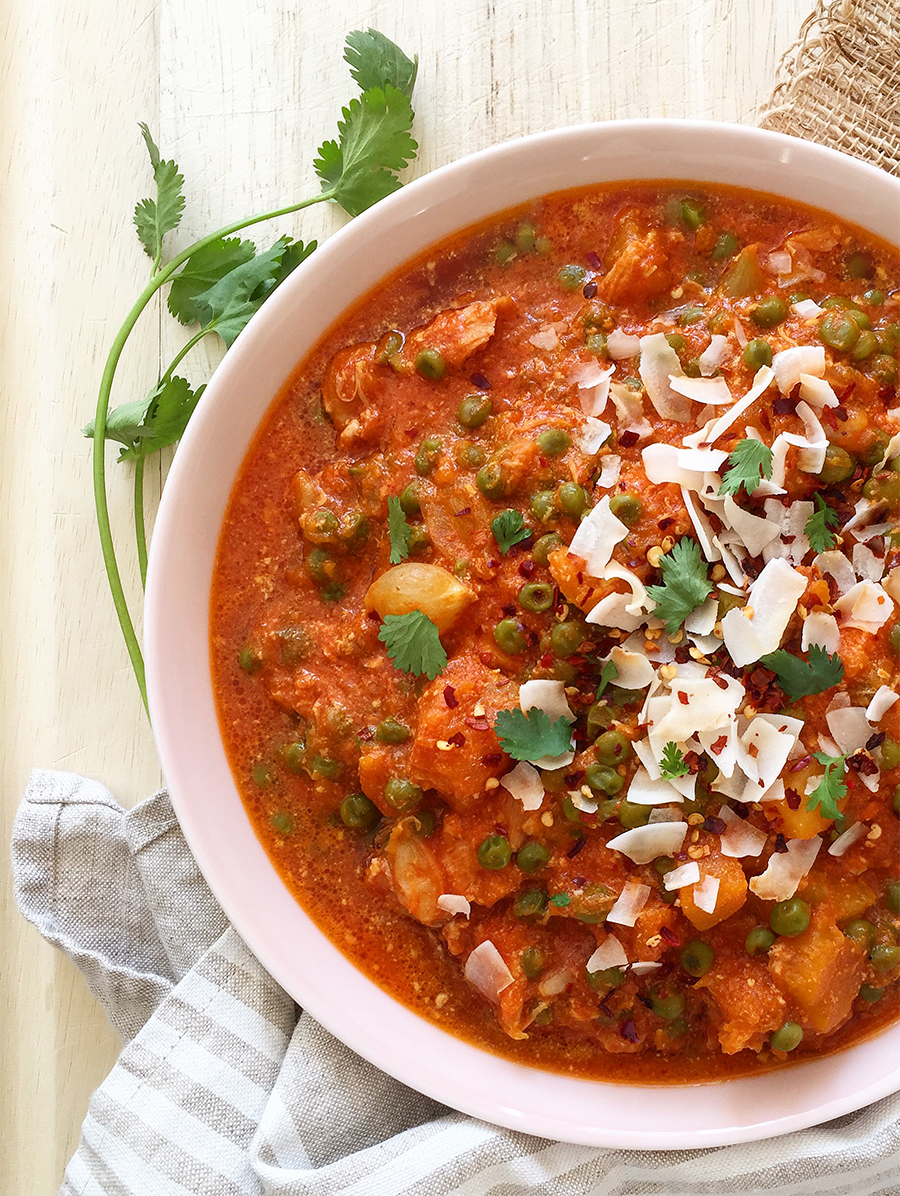 5 Minute Slow Cooker Curry (just five minutes of prep and you're done!) | Fresh Planet Flavor