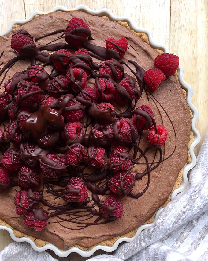 Using whipped coconut cream for decadent cloudy texture, this Fresh Raspberry French Silk Pie will be the belle of your dessert recipe repertoire. Click to read the full recipe! Fresh Planet FLavor