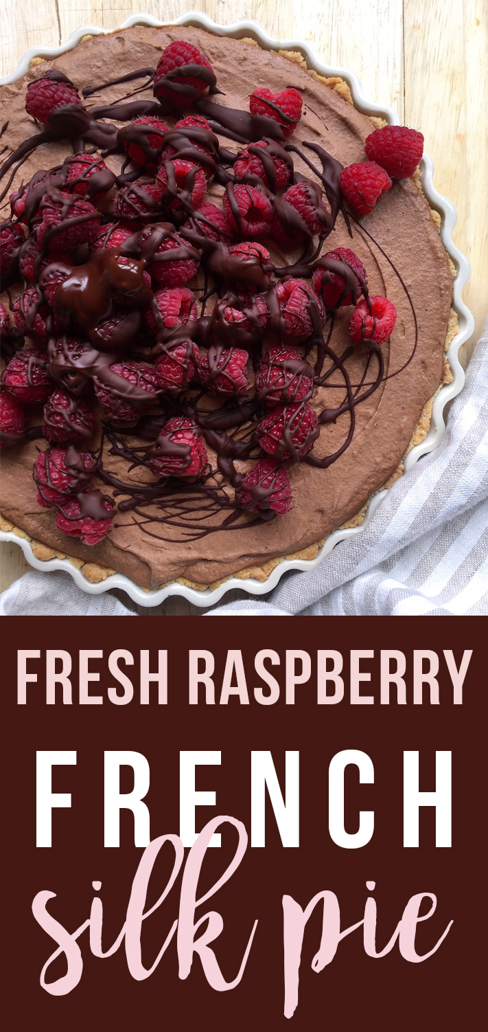 Using whipped coconut cream for decadent cloudy texture, this Fresh Raspberry French Silk Pie will be the belle of your dessert recipe repertoire. Click to read the full recipe! GrokGrub.com