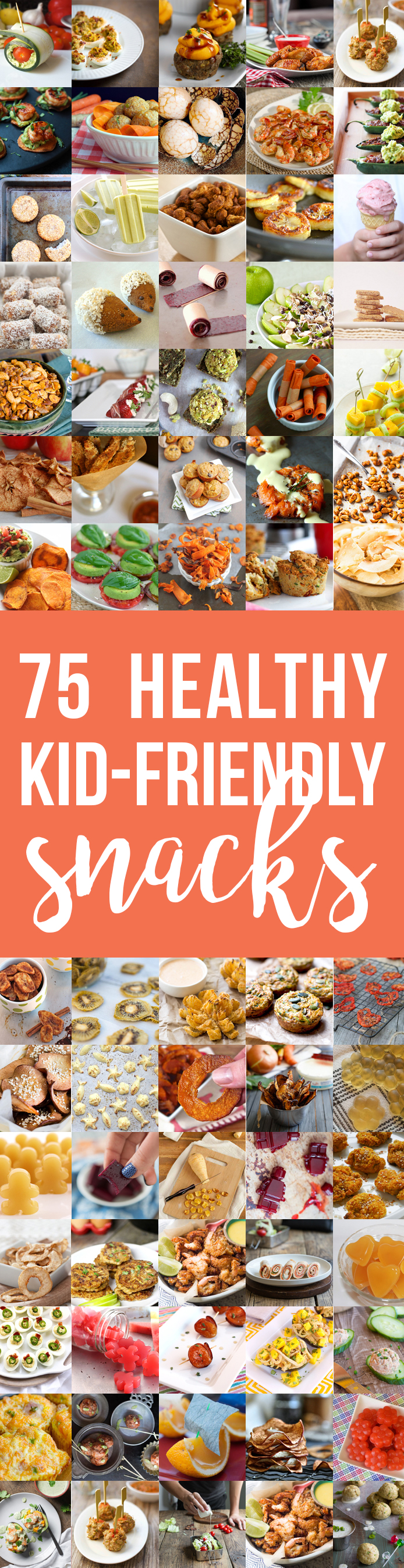 75 Healthy Kid-Friendly Snacks (allergy-friendly for every occasion!)   Fresh Planet Flavor