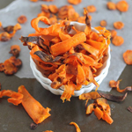 Crispy Baked Carrot Chips: 75 Healthy Kid-Friendly Snacks (allergy-friendly for every occasion)   GrokGrub.com