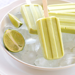 Creamy Honeydew Popsicles with Lime: 75 Healthy Kid-Friendly Snacks (allergy-friendly for every occasion)   GrokGrub.com