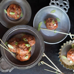 Honey Chipotle Meatballs: 75 Healthy Kid-Friendly Snacks (allergy-friendly for every occasion)   GrokGrub.com