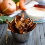 Mediterranean Eggplant Chips: 75 Healthy Kid-Friendly Snacks (allergy-friendly for every occasion)   GrokGrub.com