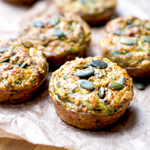 Nut Free Zucchini & Sun-Dried Tomato Muffins: 75 Healthy Kid-Friendly Snacks (allergy-friendly for every occasion)   GrokGrub.com