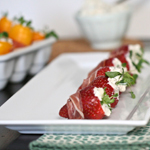 Proscuitto-Wrapped Berries & Peppers: 75 Healthy Kid-Friendly Snacks (allergy-friendly for every occasion)   GrokGrub.com