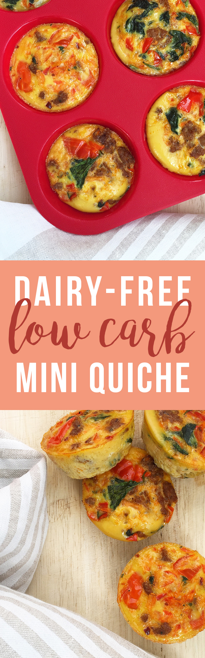 Mini Quiche: tiny, healthy, portable snack or breakfast option (dairy free, gluten free) | Fresh Planet Flavor