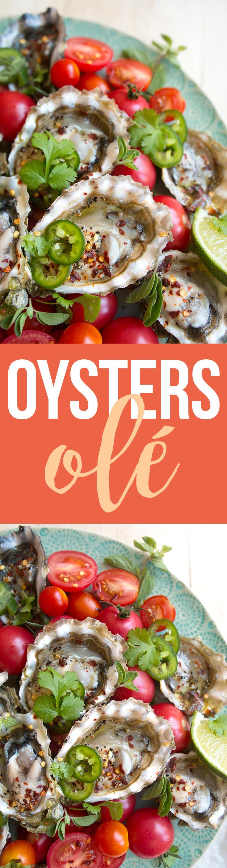 Fresh tasty oysters... yum.