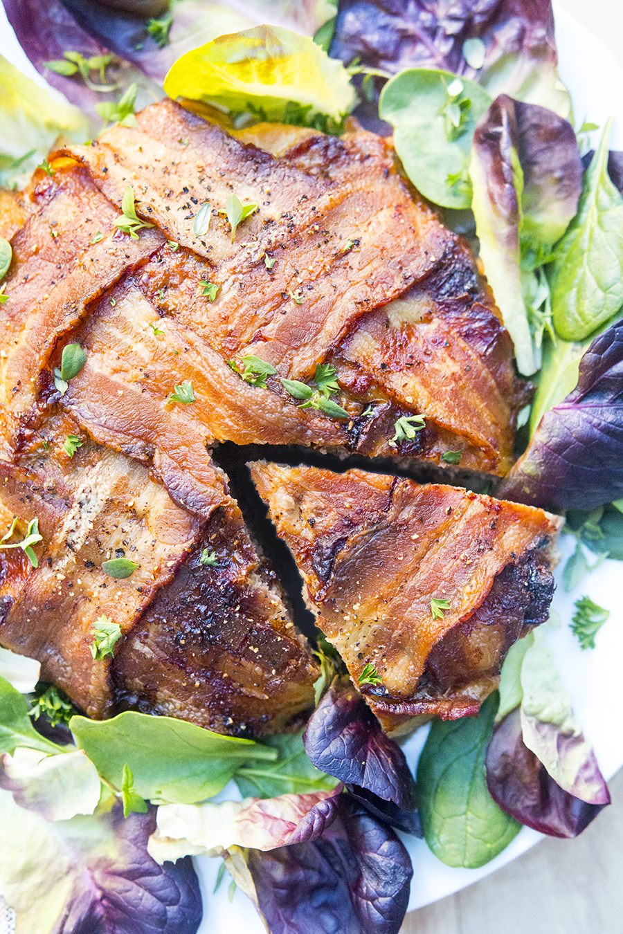 Meat Pie (grass fed beef and lamb, wrapped in bacon) | Fresh Planet Flavor