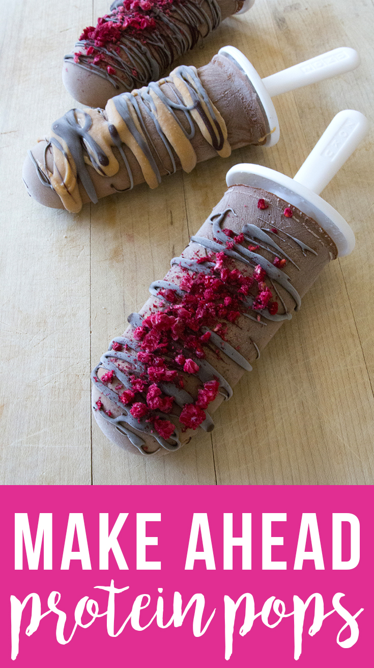 Make-Ahead Pre-Workout Protein Pops (grain free, dairy free, fruit-sweetened)   Fresh Planet Flavor