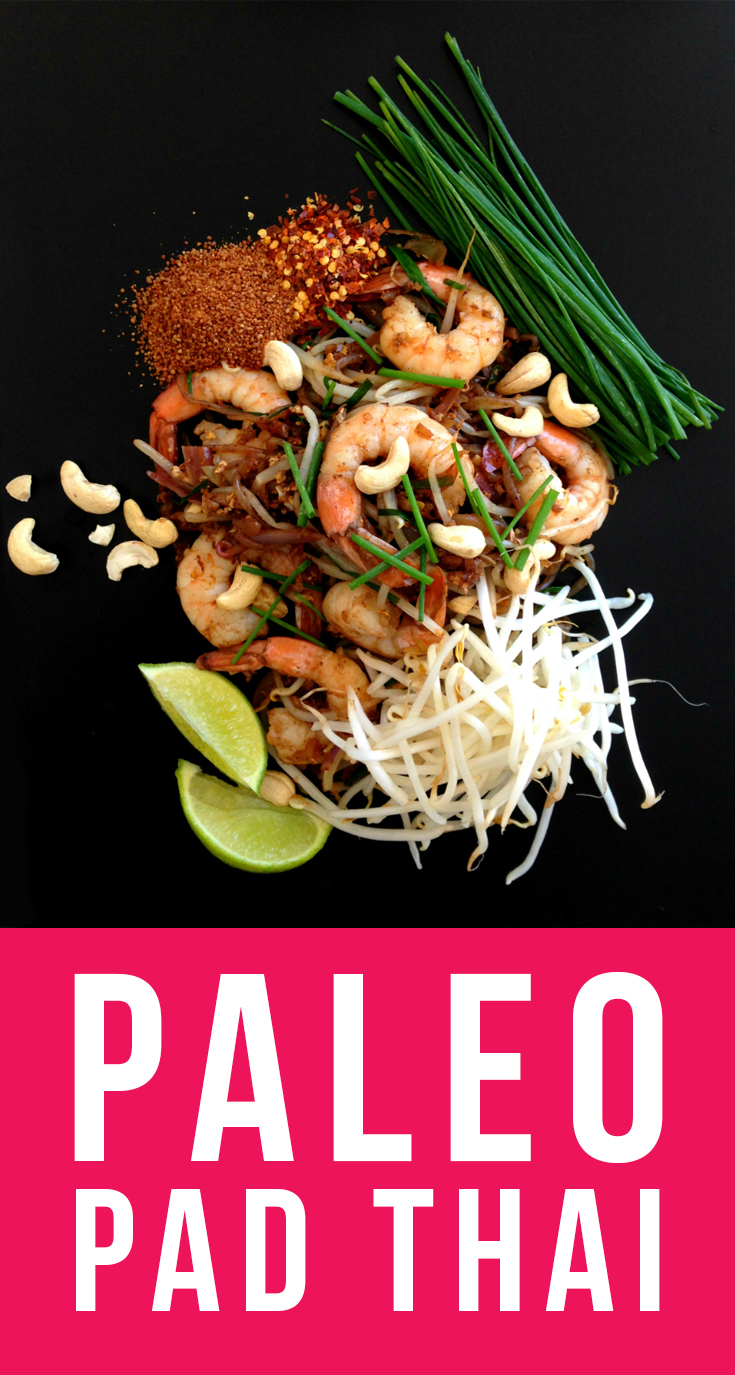This recipe gives traditional Pad Thai a Paleo spin while keeping the flavors authentic.