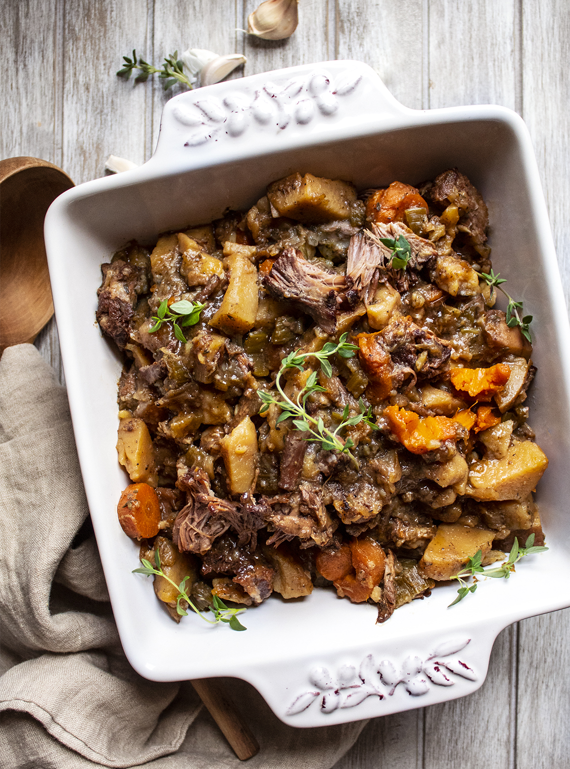 Slow-Cooker Oxtail Beef Stew