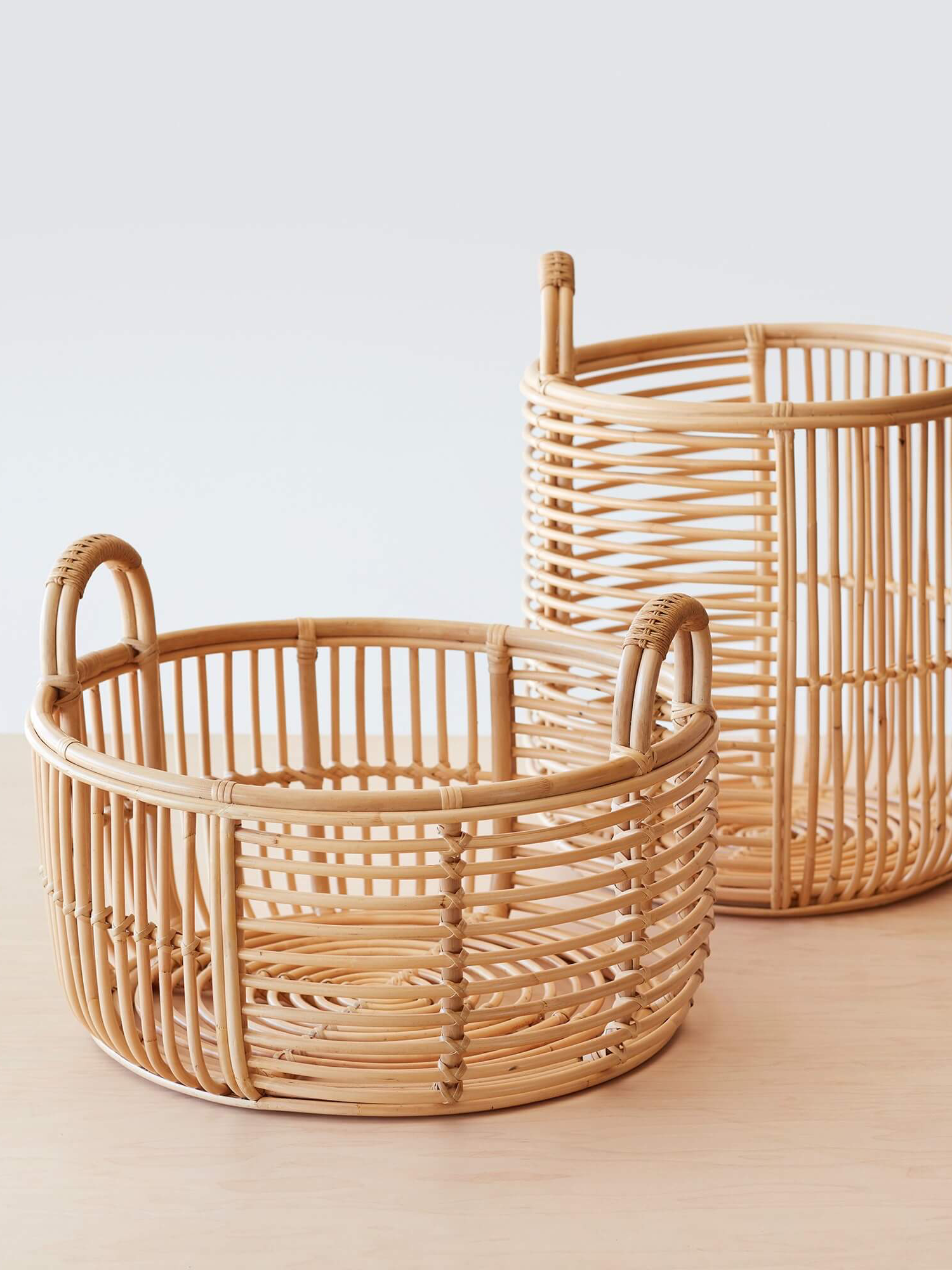 Fair Trade Baskets and Woven Bowls - Java Rattan Baskets
