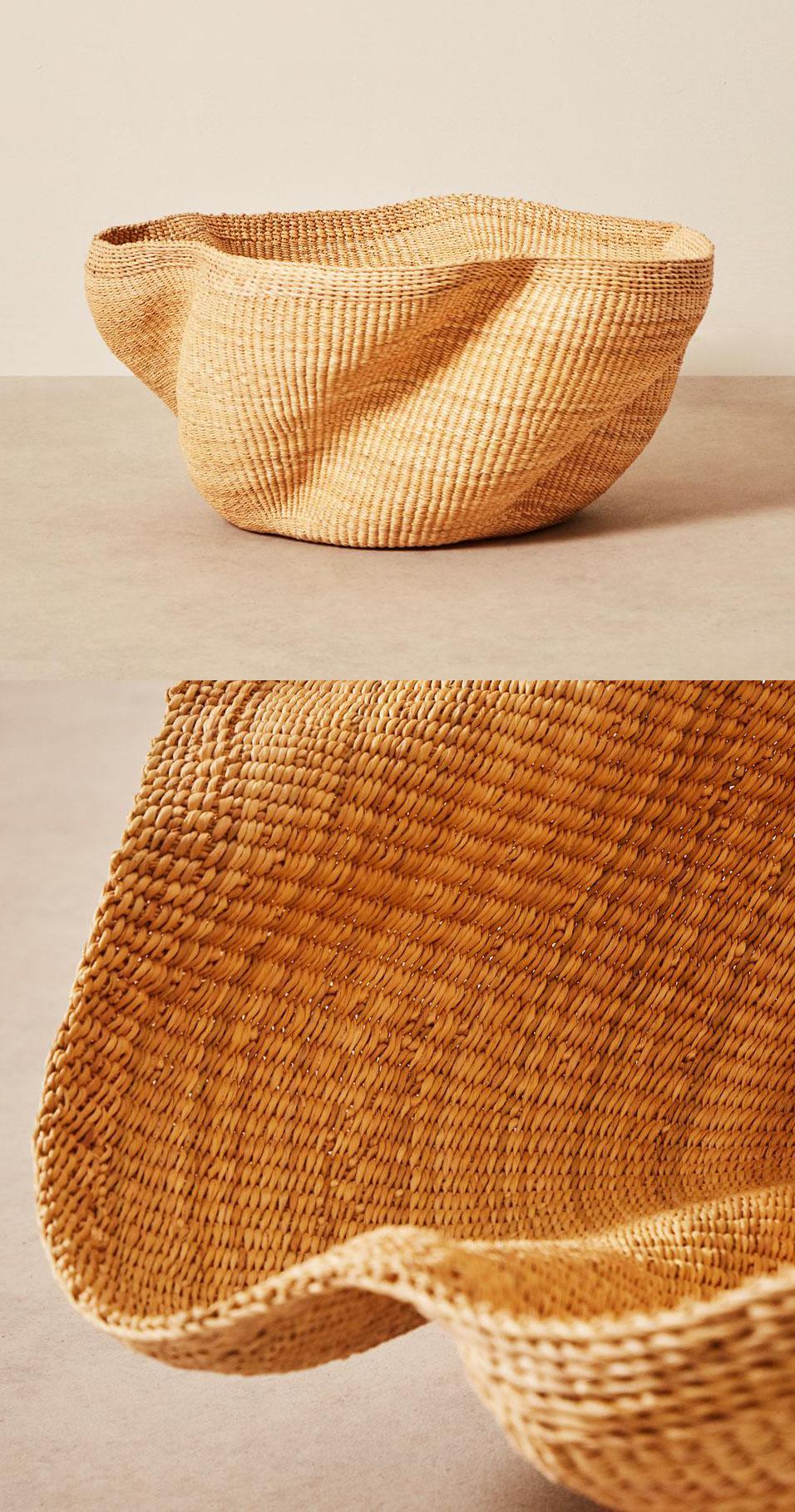 Fair Trade Baskets and Woven Bowls - Pakurigo Basket