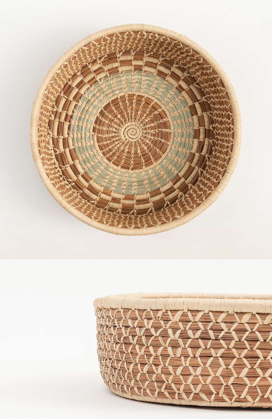 Fair Trade Baskets and Woven Bowls - Woven Harvest Basket